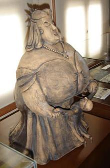 RAMİZ'İN Tombul Teyze Tipi (Seramik Heykel)