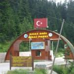 Ilgaz Dağı Milli Parkı Giriş