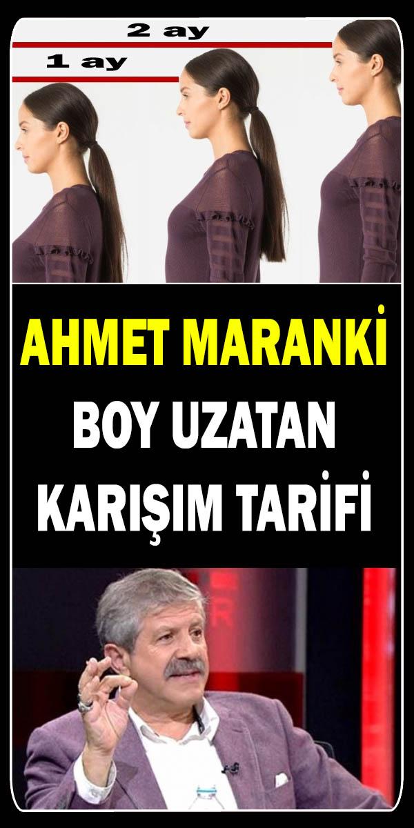 Ahmet Maranki Boy Uzatan Karışım Tarifi