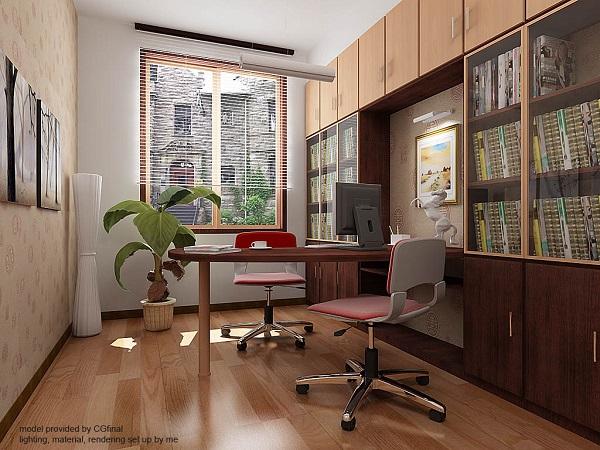 Feng Shui ofis dekorasyon fikirleri