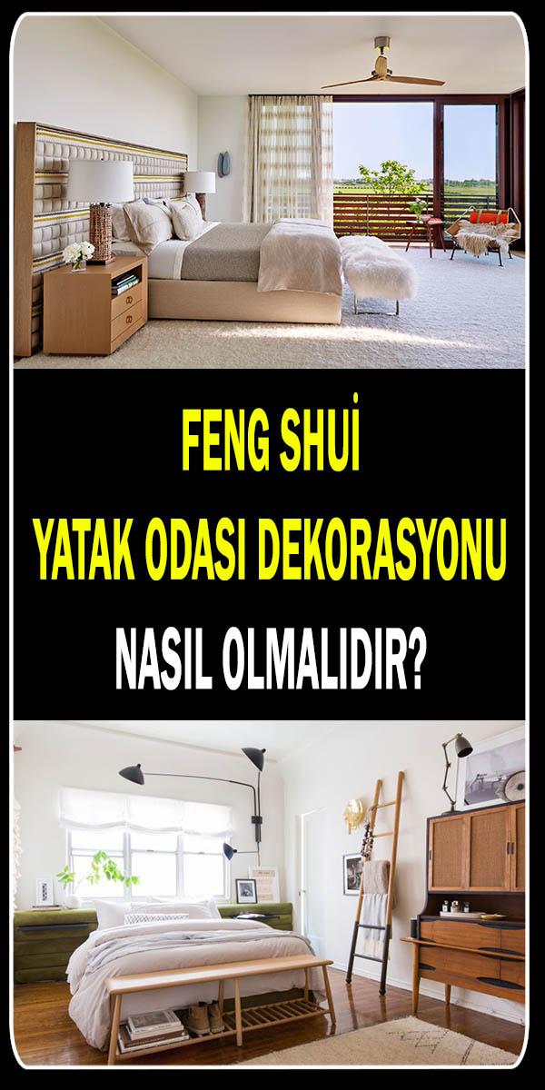 Feng Shui yatak odası dekorasyonu örnekleri