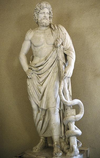 Sağlık Tanrısı Asklepios