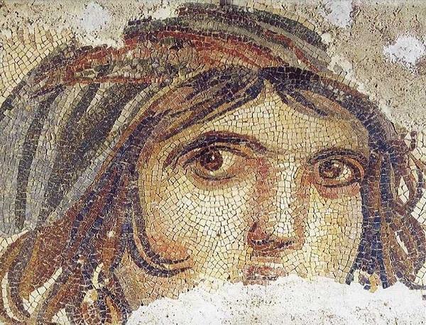 Zeugma Çingene Kızı Mozaiği