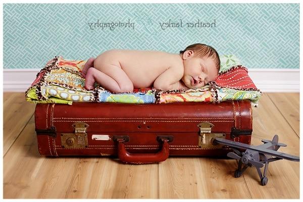 yeni doğan bebekle tatil yapmak