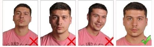 başın pozisyonu ve yüz ifadesi