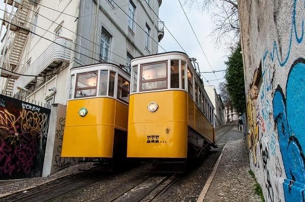 Lizbon Sarı Füniküler