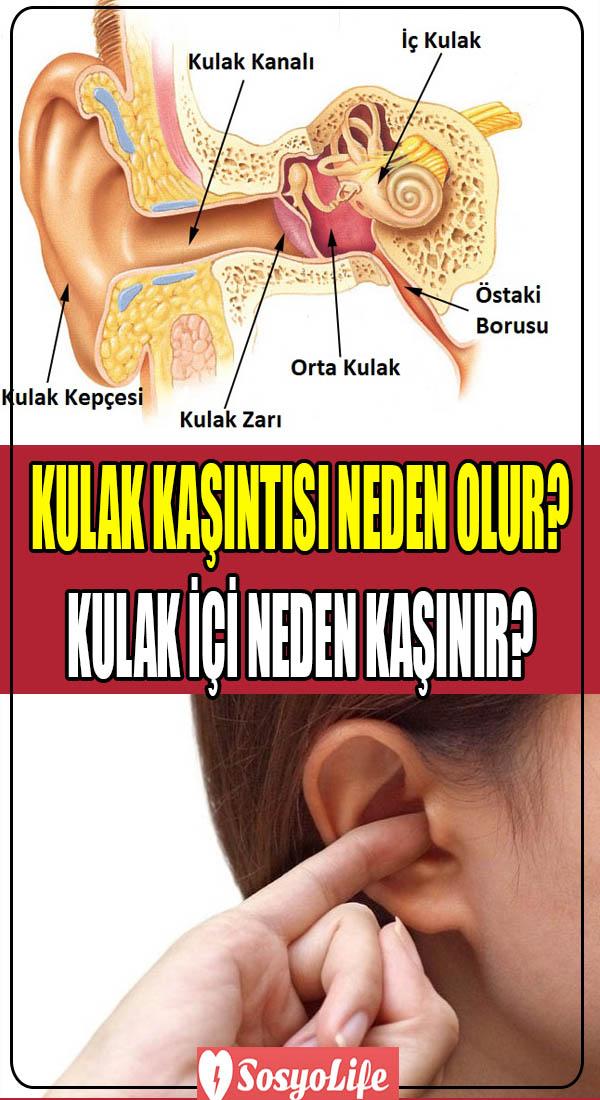 kulak kaşıntısı nedenleri