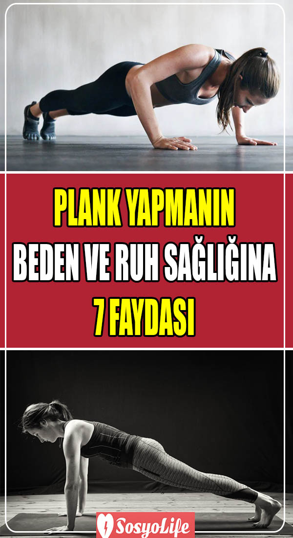 plank yapmanın faydaları