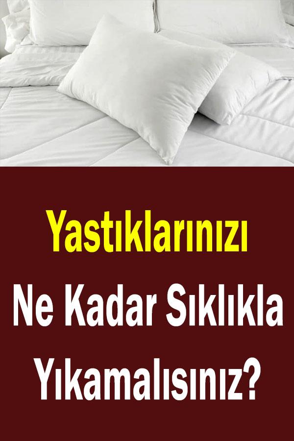 Yastık temizliği ne kadar sıklıkla yapılmalı