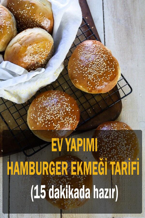 hamburger ekmeği yapımı