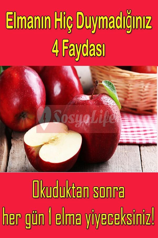 elmanın faydaları ve vitaminleri