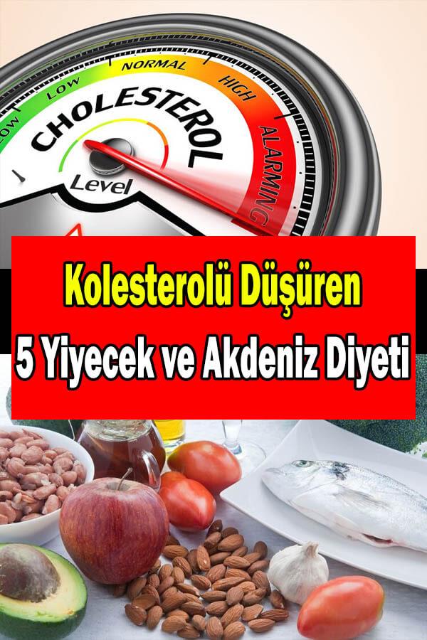 kolesterol nasıl düşer kolesterolü düşüren yiyecekler