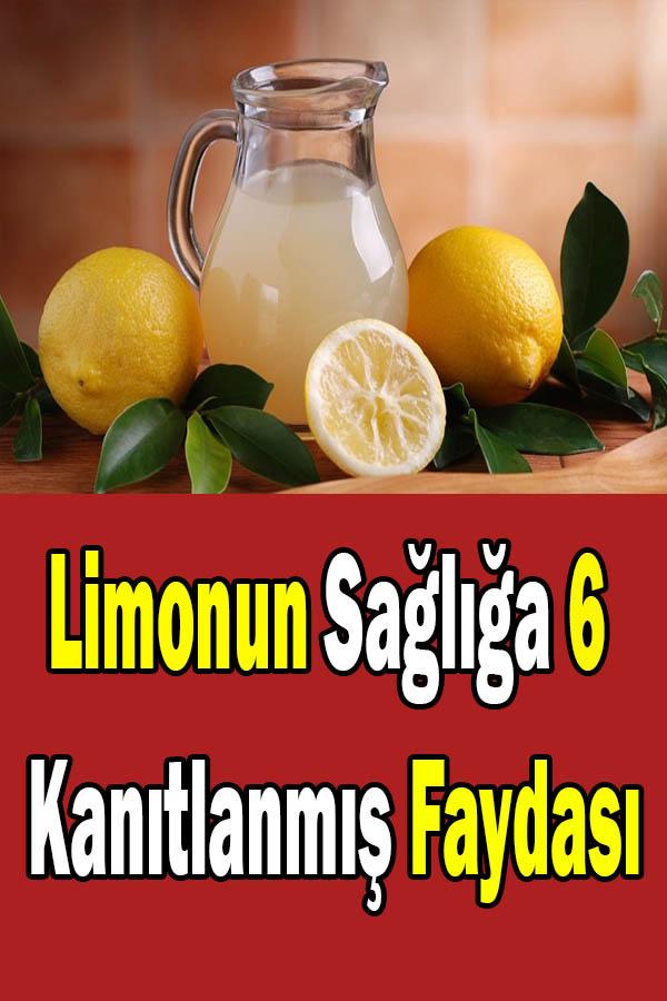 limonun sağlığa faydaları