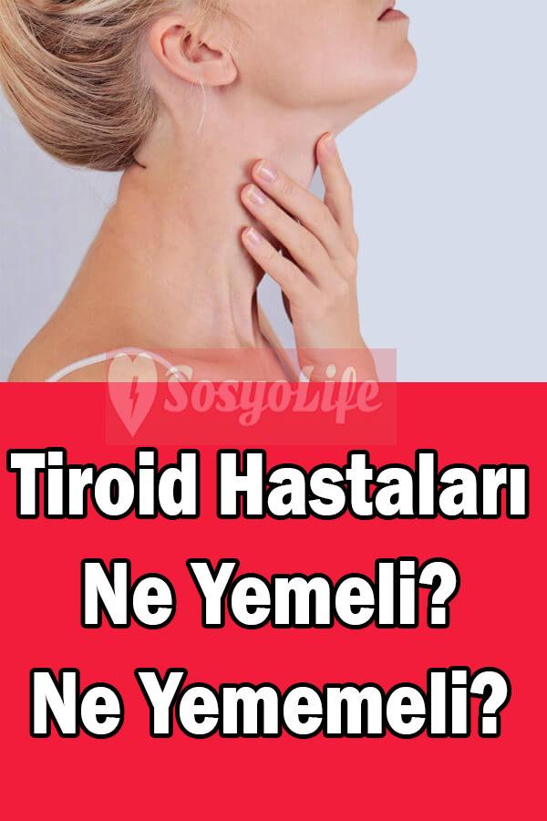 tiroid hastalığı tiroide ne iyi gelir