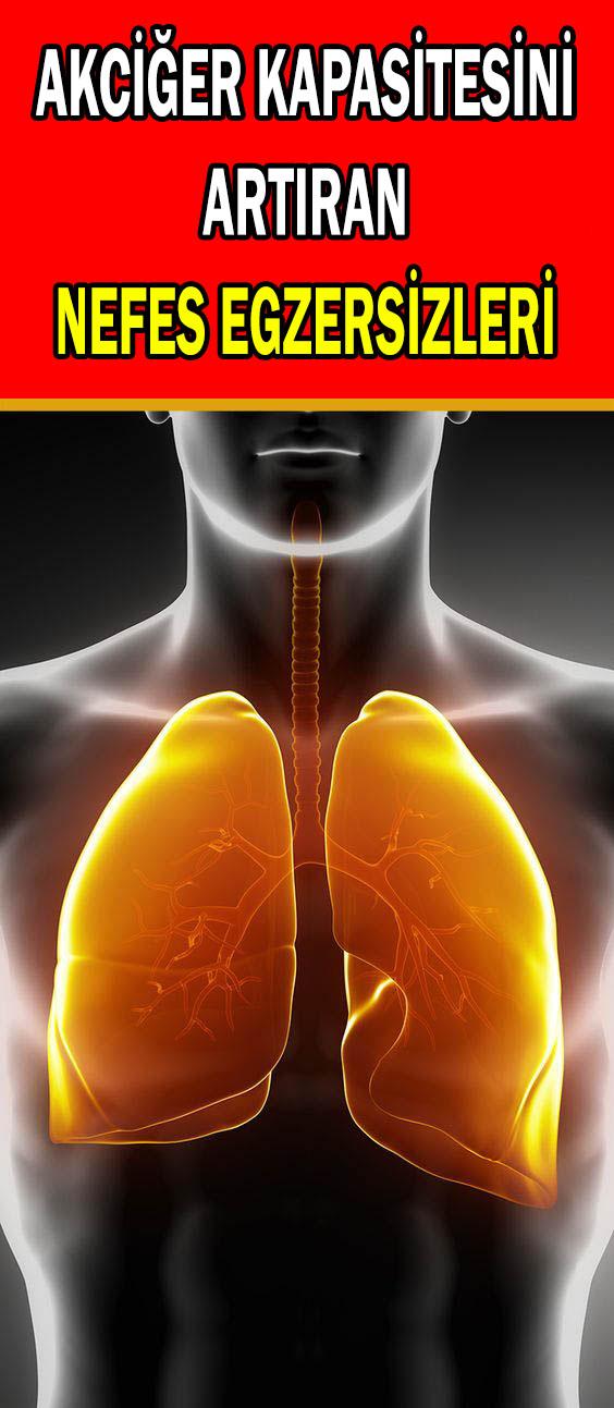 Akciğer kapasitesini artıran nefes egzersizleri