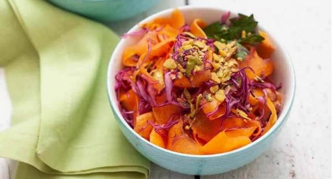 bal kabağı salatası