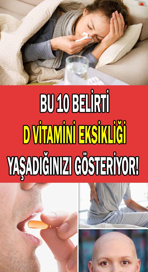 d vitamini eksikliği belirtileri ve tedavisi