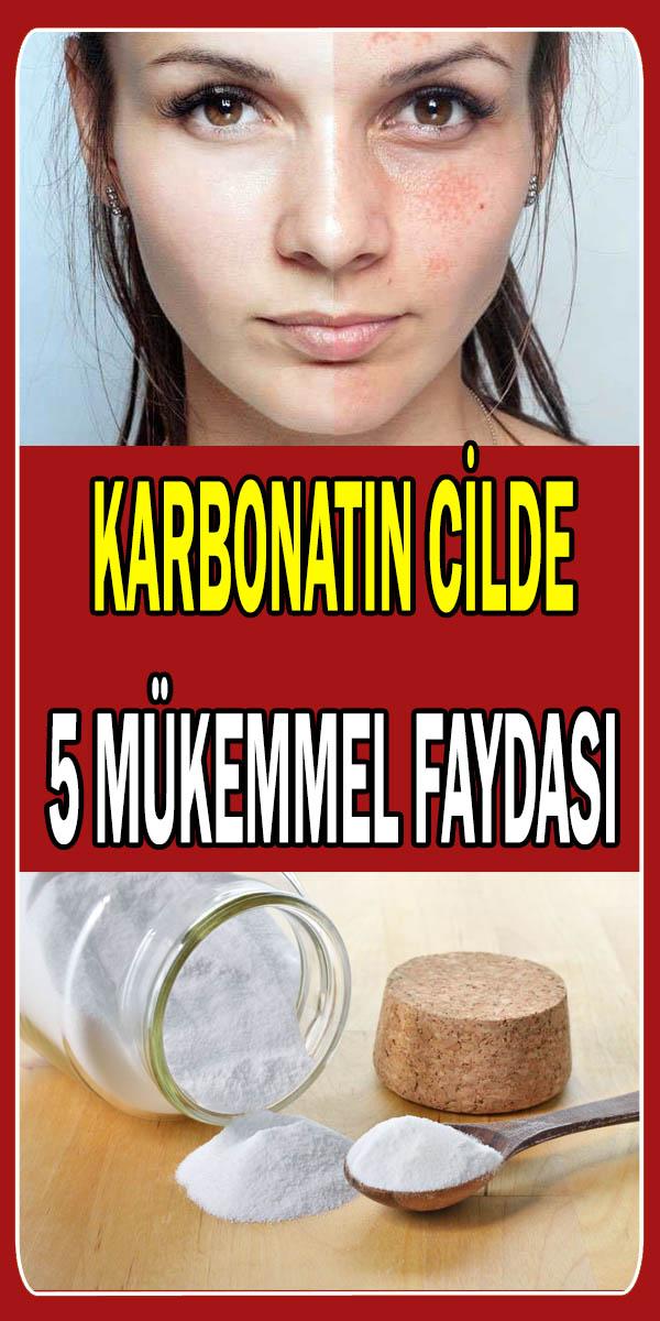 Karbonatın cilde faydaları ve kullanım şekilleri