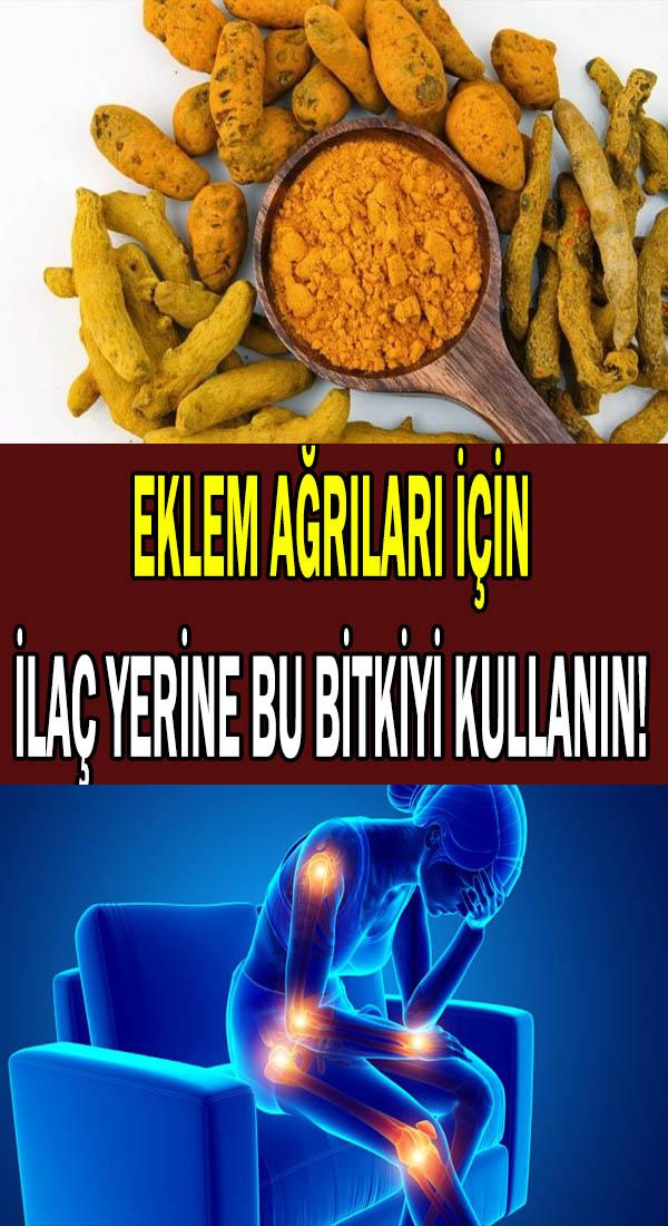 eklem ağrıları için bitkisel tedavi