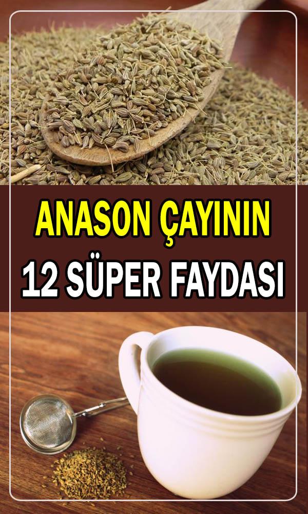 Anason çayının 12 faydası