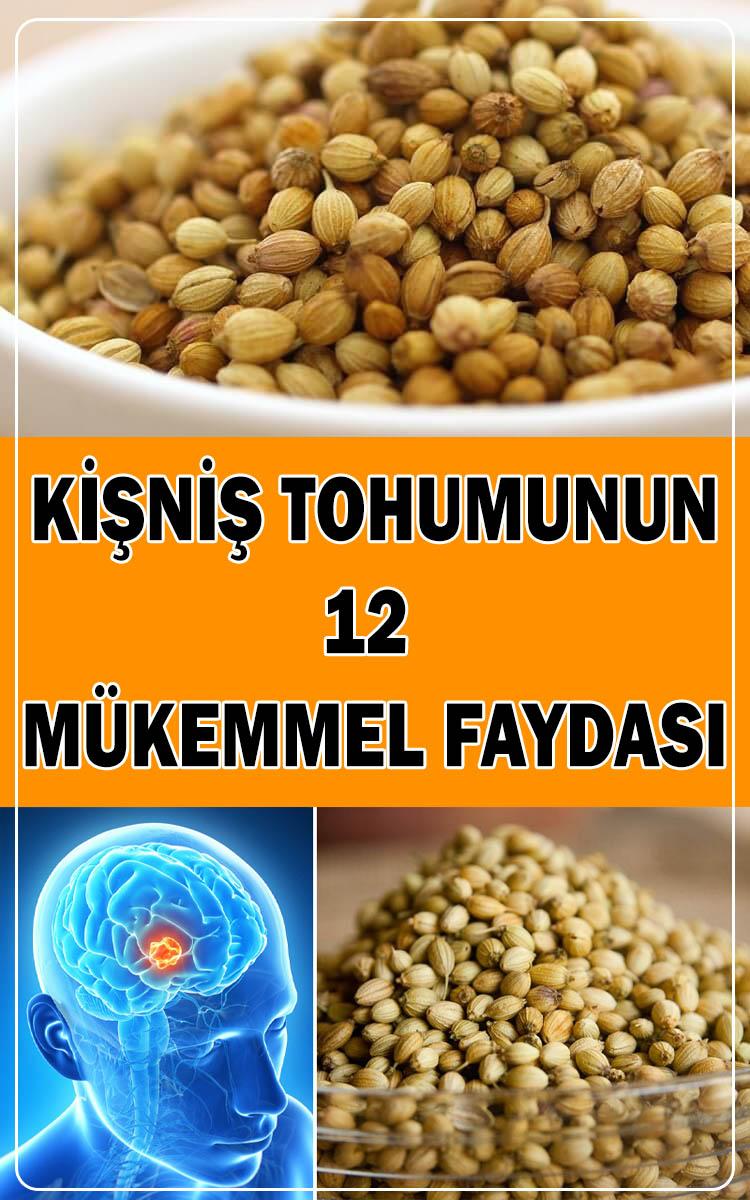 Kişniş tohumunun faydaları