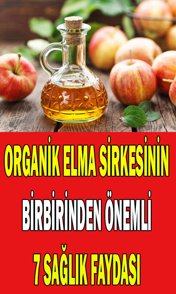 Organik elma sirkesinin sağlığa faydaları