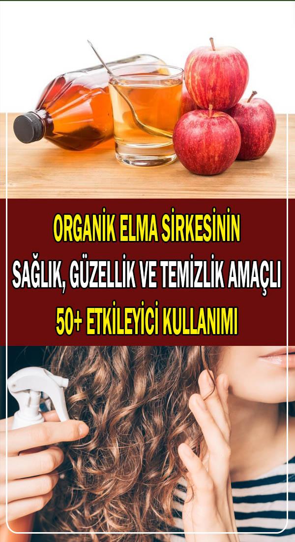 elma sirkesinin sağlık ve güzellik amaçlı kullanımları