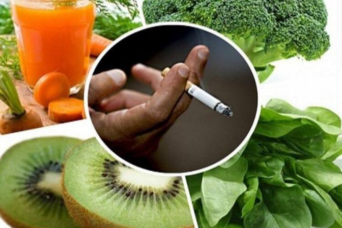 vücuttaki nikotini temizleyen gıdalar
