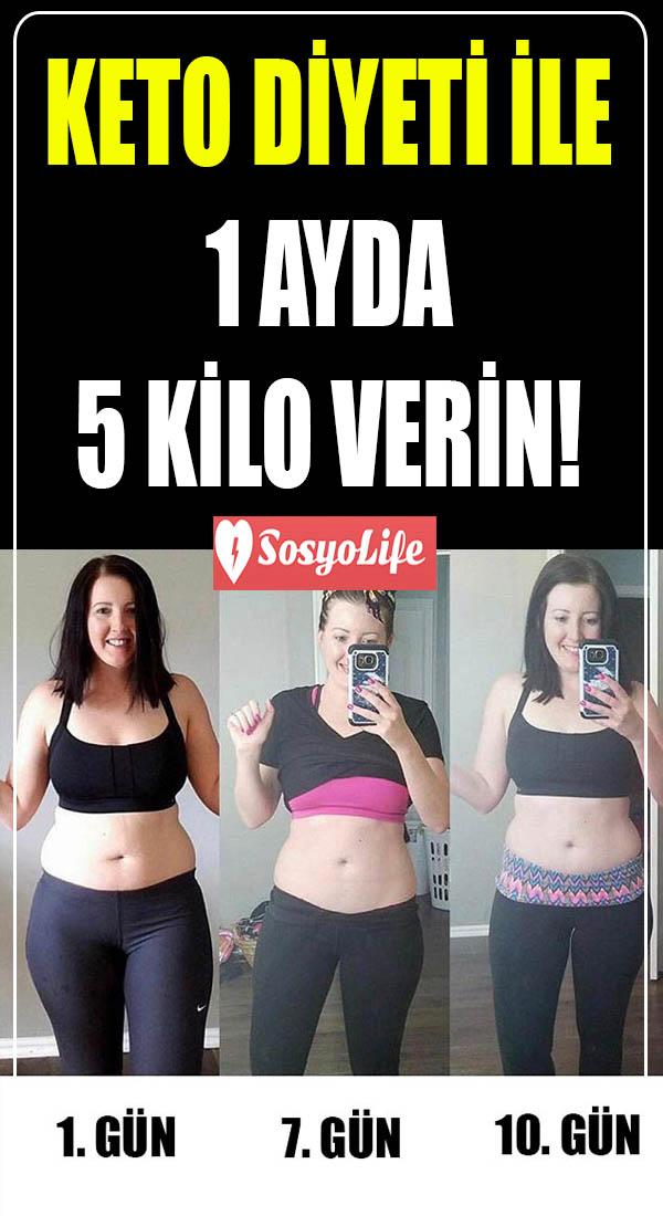 keto diyeti ile 1 ayda 5 kilo verme