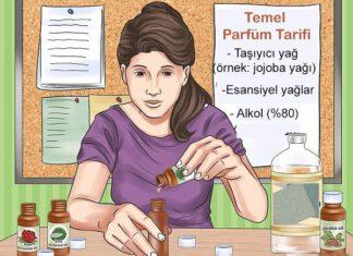 temel parfüm tarifi